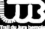 logo trail du jura bernois blanc